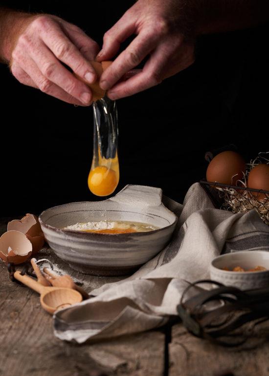 Fotografía de alimentos Huevos Rotos Esther Clemente